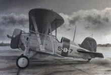John Baeder - Boeing F4B-4
