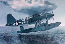 John Baeder - Chance-Vought OS2U-1