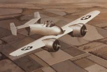 John Baeder - Grumann XF5F-1