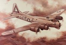 John Baeder - Boeing B-17G