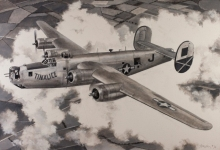 John Baeder - Consolidated B-24J