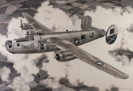 John Baeder - Consolidated B-24J