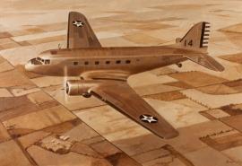 John Baeder - Douglas C-39