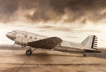 John Baeder - Douglas C-41A