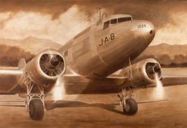 John-Baeder - Douglas-DC-3