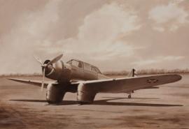 John Baeder - NORTHROP XA-16 GAMMA.jpg