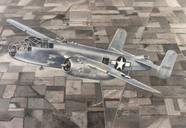 John Baeder - North American B-25J
