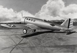 John Baeder - Northrop YC-19 Alpha