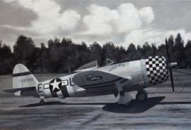 John Baeder - Republic P-47D-25
