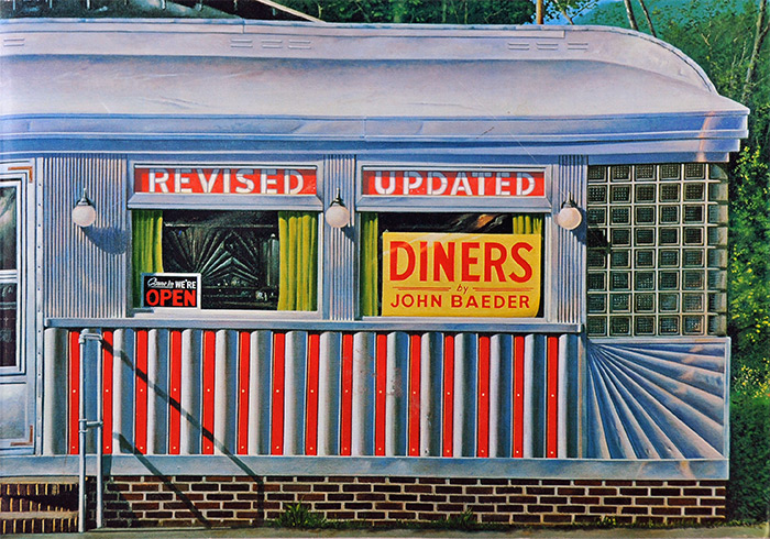 Diners Revised - 1995 by John Baeder