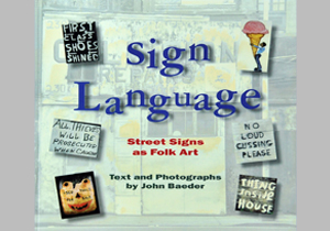 Book Covers - 1996 Sign Language